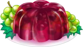 Recipe-Grape Gelatin Jiggler