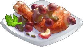 Recipe-Roasted Chicken with Grapes