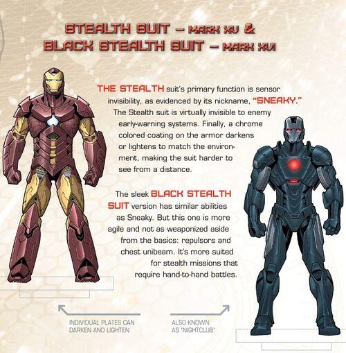 Iron Man Mark 16 Nightclub Iron Man Armor Mark Xvi