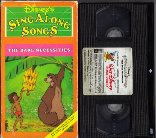 Sing Along Songs You Can Fly Vhs Disney Sing Along Songs The