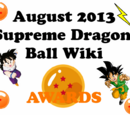 2013 Supreme Dragon Ball Wiki Awards