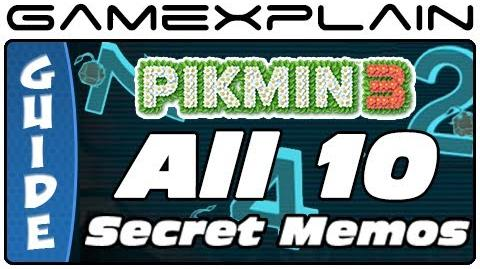 All 10 Secret Files in Pikmin 3
