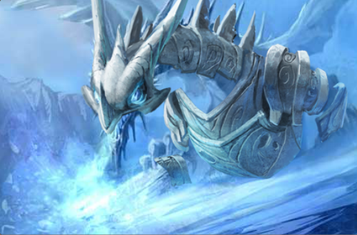 Image - Armored Frost Dragon.PNG - Dragons Of Atlantis Wiki