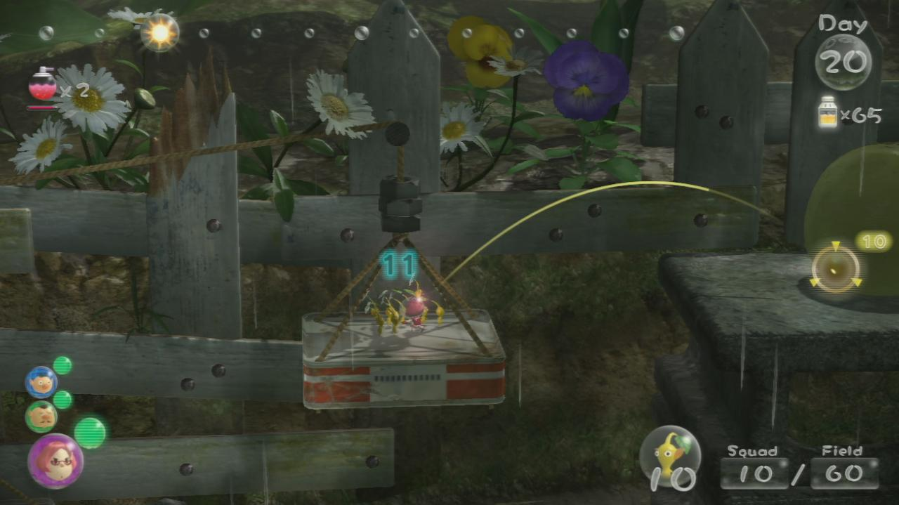 Pikmin 3 Walkthrough Forest of Hope Fruit Locations