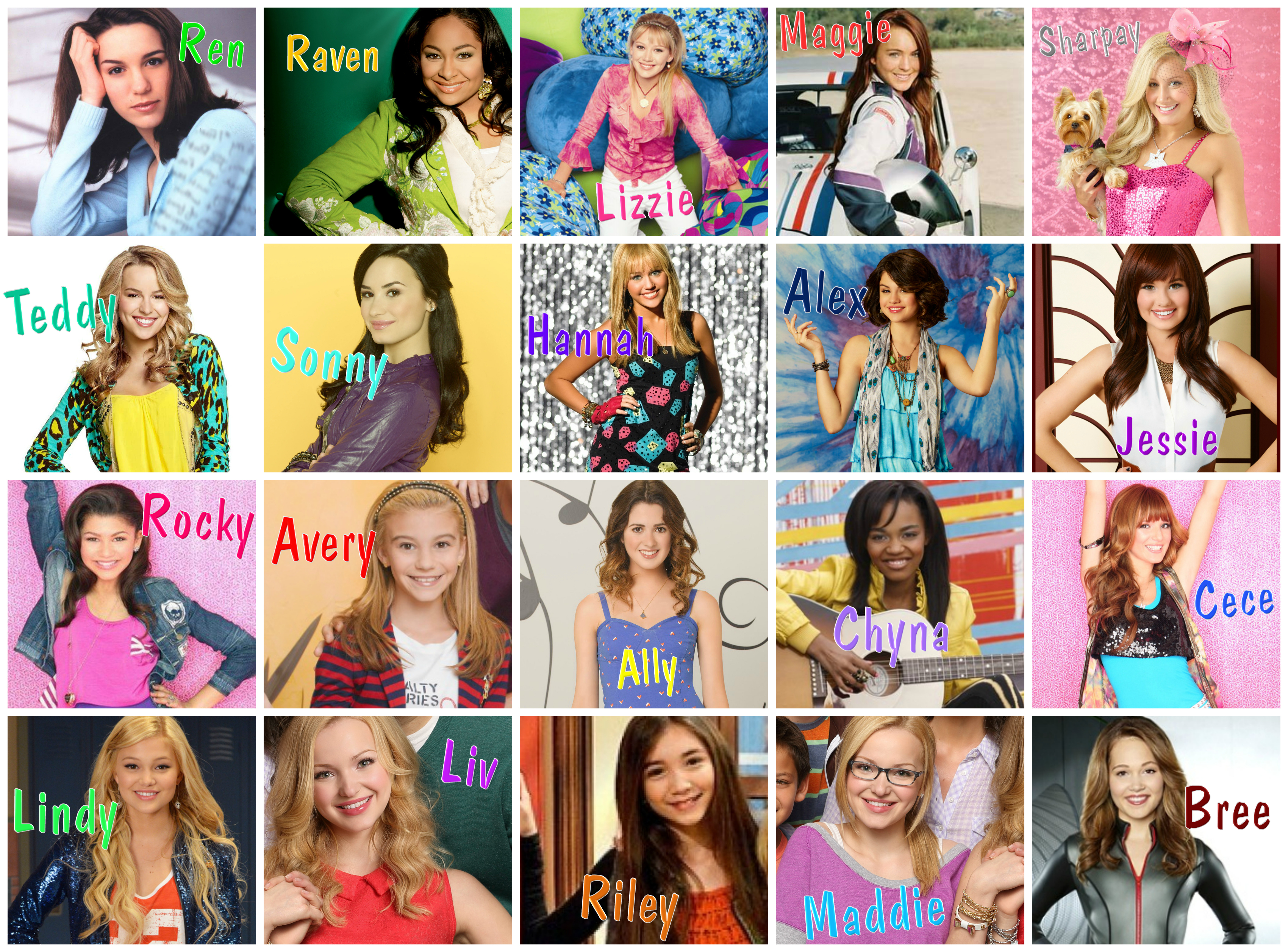 who s your favorite disney girl   liv and maddie wiki