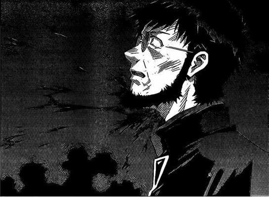 Image Gendo S Death Manga Png Neon Genesis