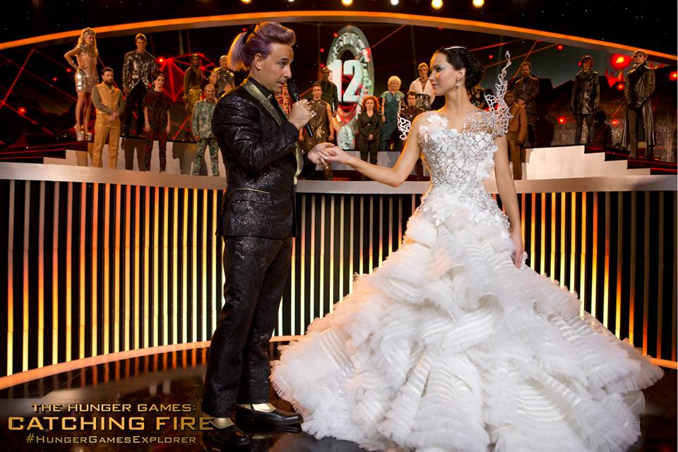 Katniss Clothing Designer Hunger Games Wedding Dress