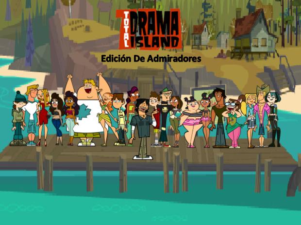 Foto de grupo de isla de drama total