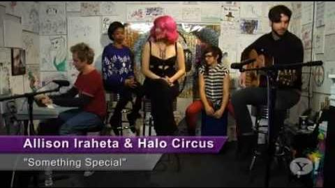 Allison Iraheta and Halo Circus - Something Special (Yahoo, 02 19 2013)