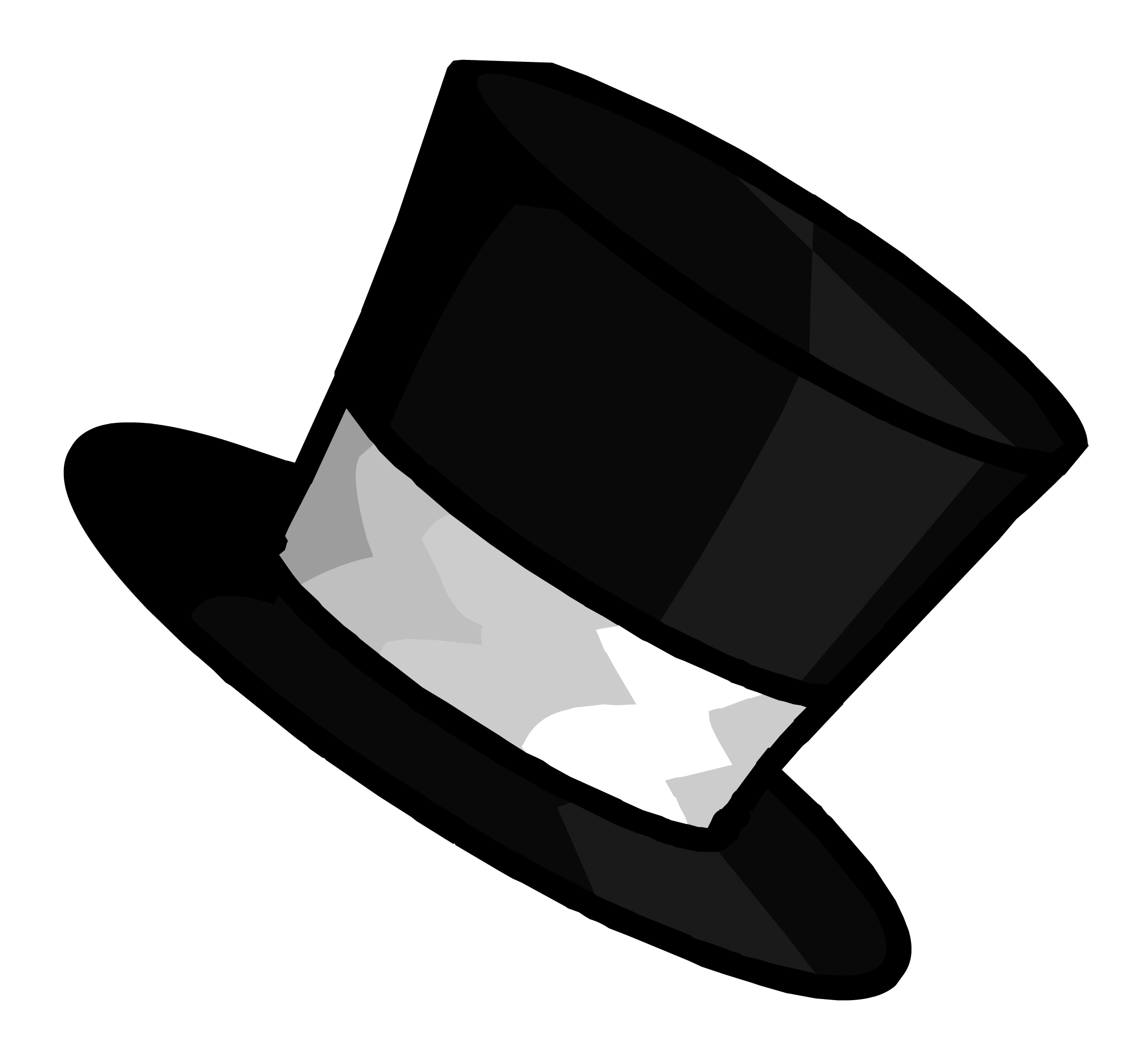 Top Hat Template Top hat pin