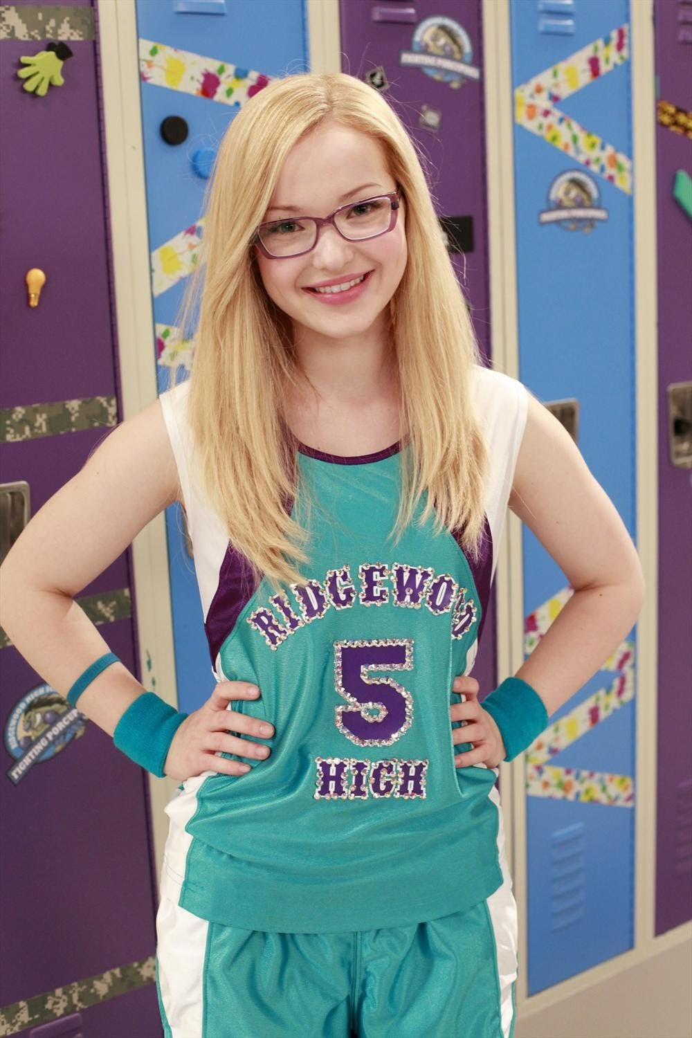 Printable coloring pages liv and maddie - Maddie Rooney From Liv And Maddie