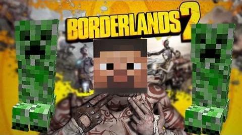 Borderlands 2 - MINECRAFT CREEPER EASTER EGG