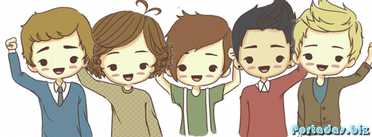 Imagen - One direction caricaturas.png - 1D One Direction