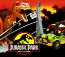 Jurassic Park Jungle Explorer with T-Rex