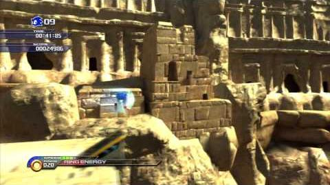 Sonic Unleashed (PS3) Shamar Arid Sands Day Act 2 S Rank