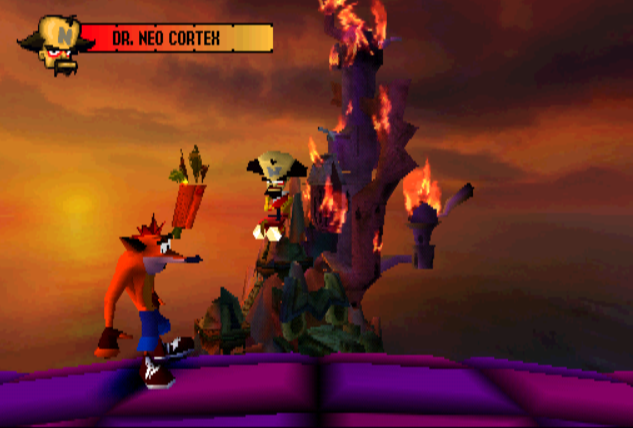crash bandicoot wrath of cortex wallpaper