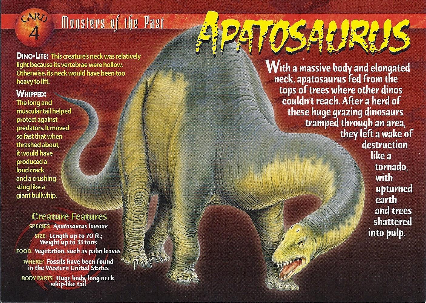 Apatosaurus Wierd N Wild Creatures Wiki