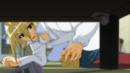 Akune cleans the Shogi Club room.png