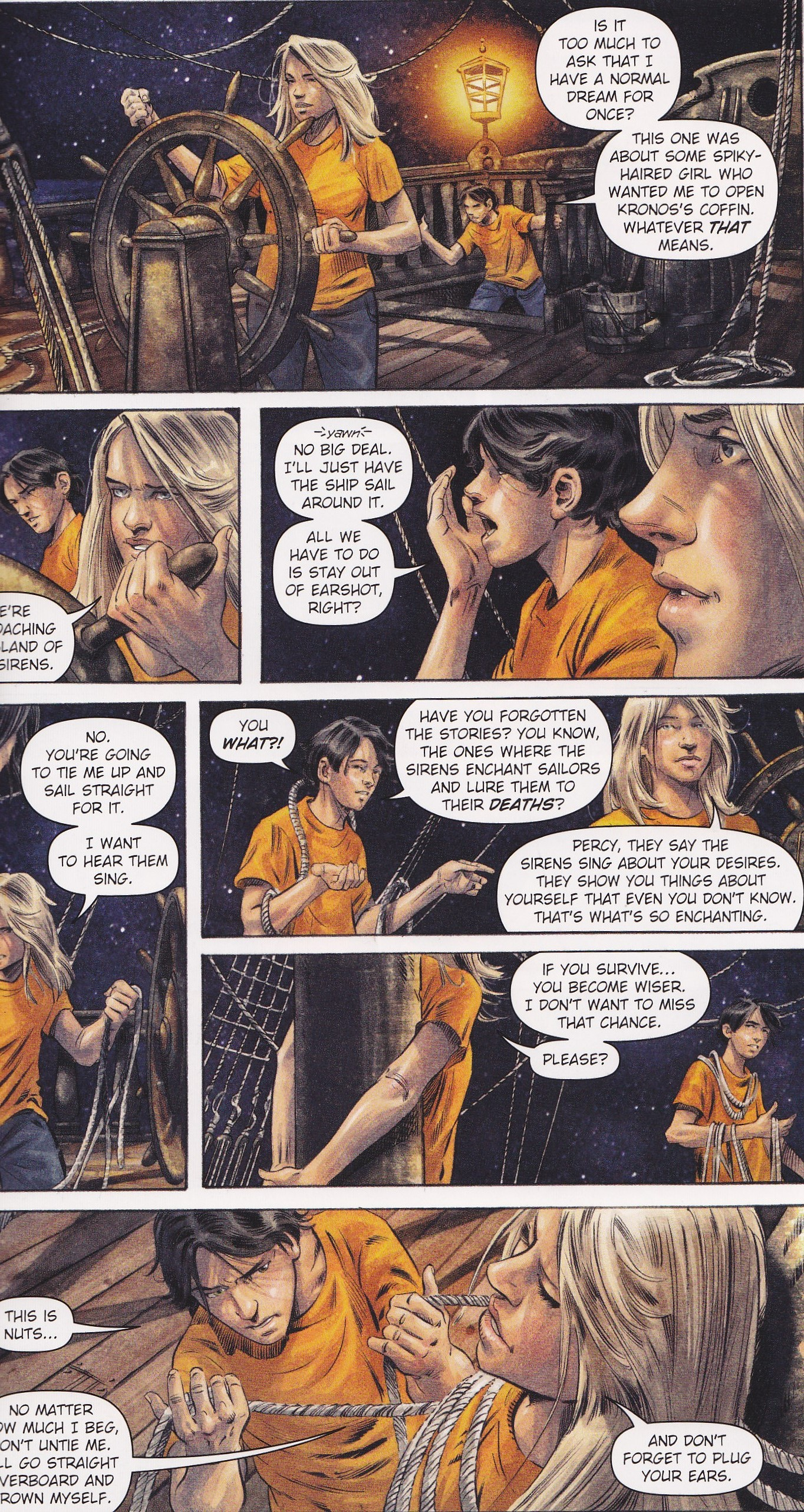 Percy Jackson and the Titan's Curse: The Graphic Novel ... |Percy Jackson Graphic Novel Annabeth