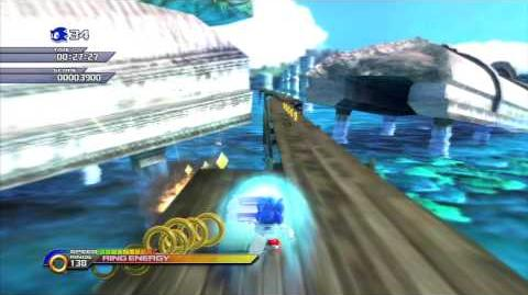 Sonic Unleashed (PS3) Adabat Jungle Joyride Day Act 3 S-Rank