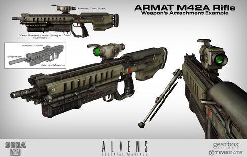 M42a Scope Rifle Xenopedia Wikia