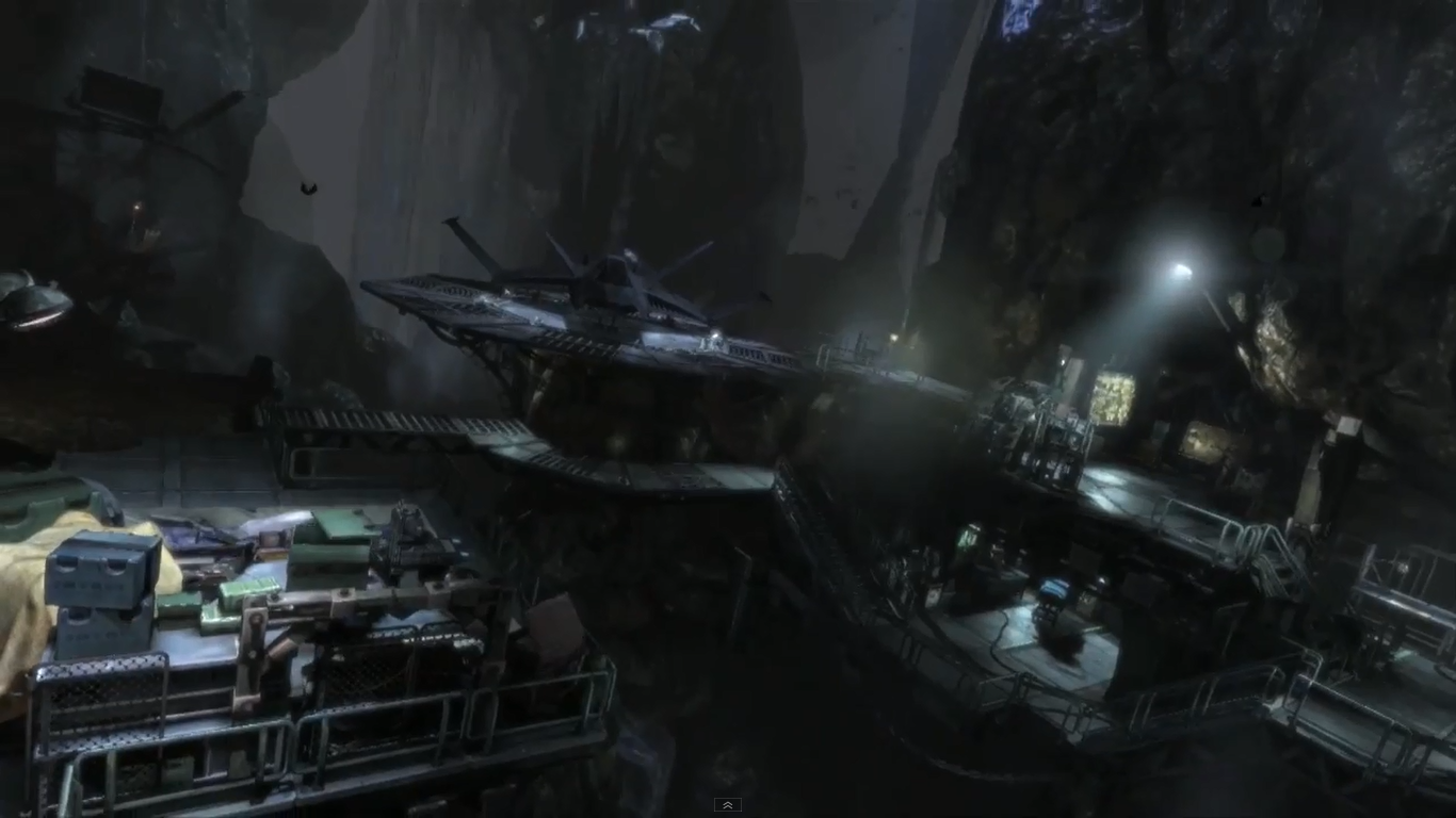 Arkham City Batcave Arkham City The Batcave