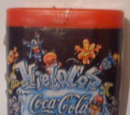 Coca Cola Hielocos Plastic Container