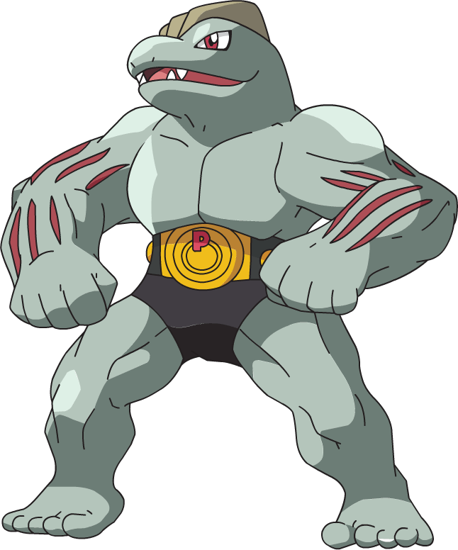 i just realized machoke is like born with clothes ign boards