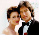 Ridge Forrester and Taylor Hayes