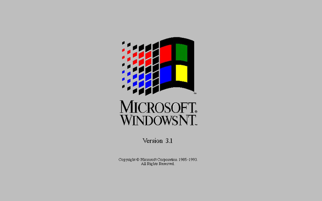 a look at the history of the windows nt back to the early 80s