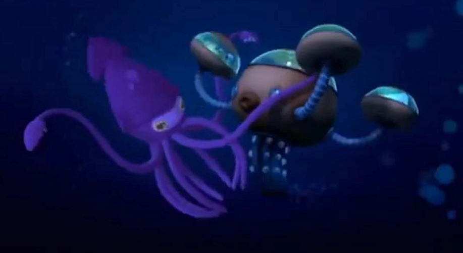 the colossal squid octonauts wiki