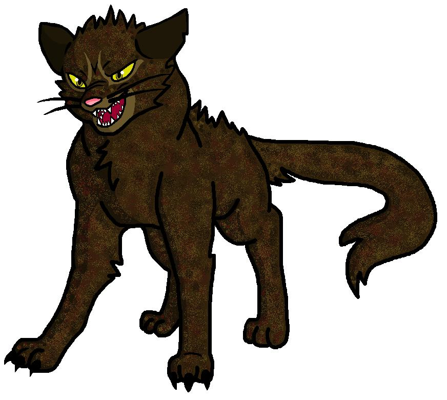 Warrior Cats A Vision Of Shadows Book 1: Hazeltuft Looks Over The Characters Of Onestar And Mudstar