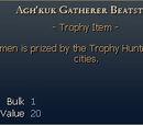 Agh'kuk Gatherer Beatstick