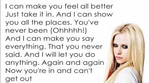 Avril Lavigne - Hot Lyrics Letra