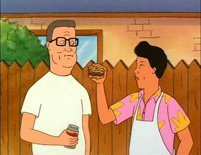 Hank Hill Hot Dog