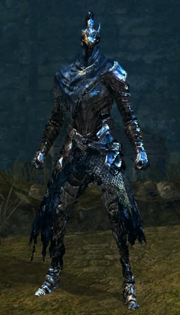 Set of Artorias - Dark Souls Wiki Artorias Armor Restored