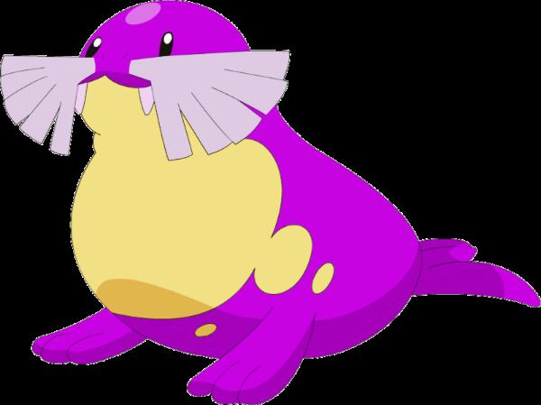 Shiny spheal pokemon