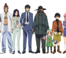 Future Diary Series Characters