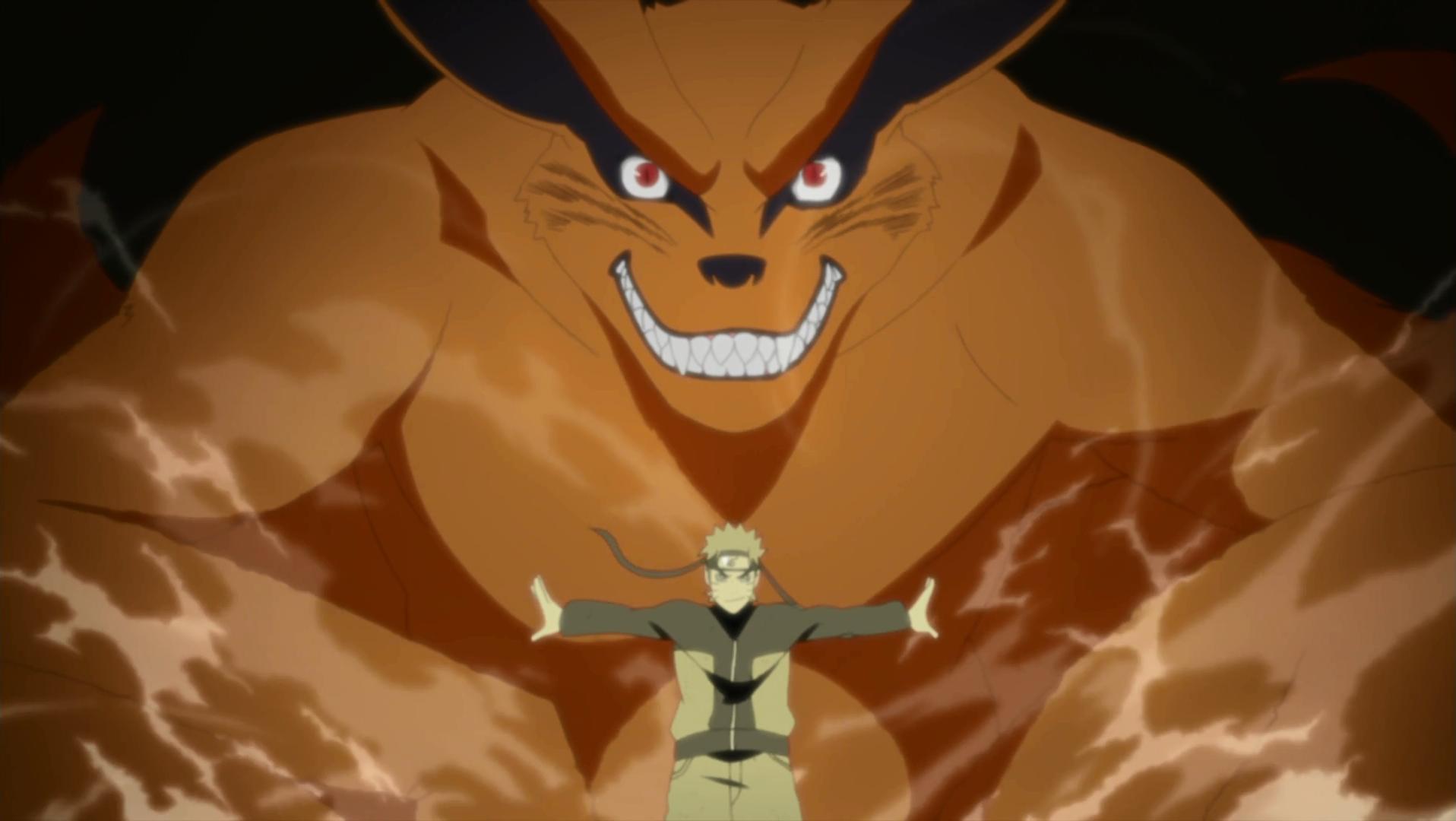 Naruto et Kuram... Hachibi