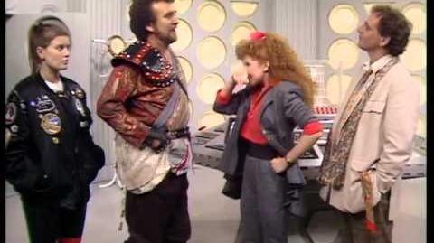Goodbye Mel, Hello Ace! - Doctor Who - Dragonfire - BBC