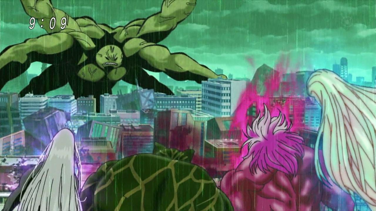 Toriko Zebra Intimidation