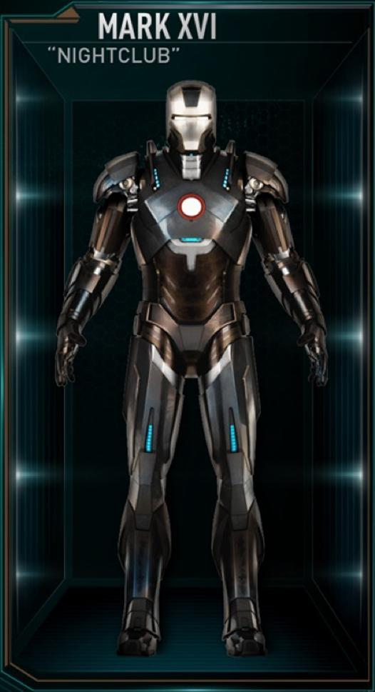 Iron Man Armor MK XVI (Earth-199999) - Marvel Comics Database