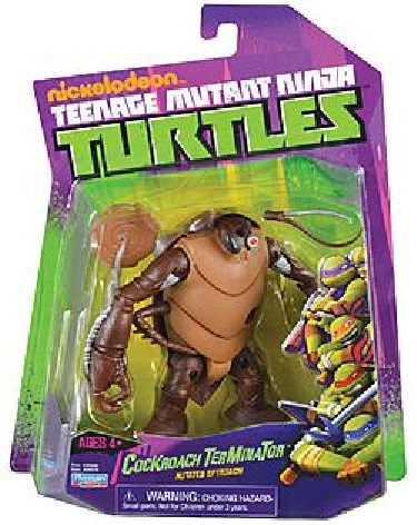 Cockroach terminator action figure tmnt wiki - Rat tortues ninja ...