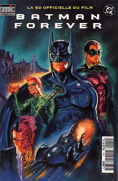 Batman forever la bd officielle du film wiki batman - Image de batman et robin ...