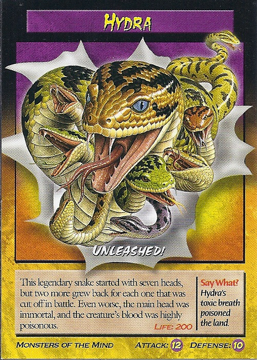 Pin Hydra Monsters Of The Mind Card 48 Front Added By Lady39jane on ...