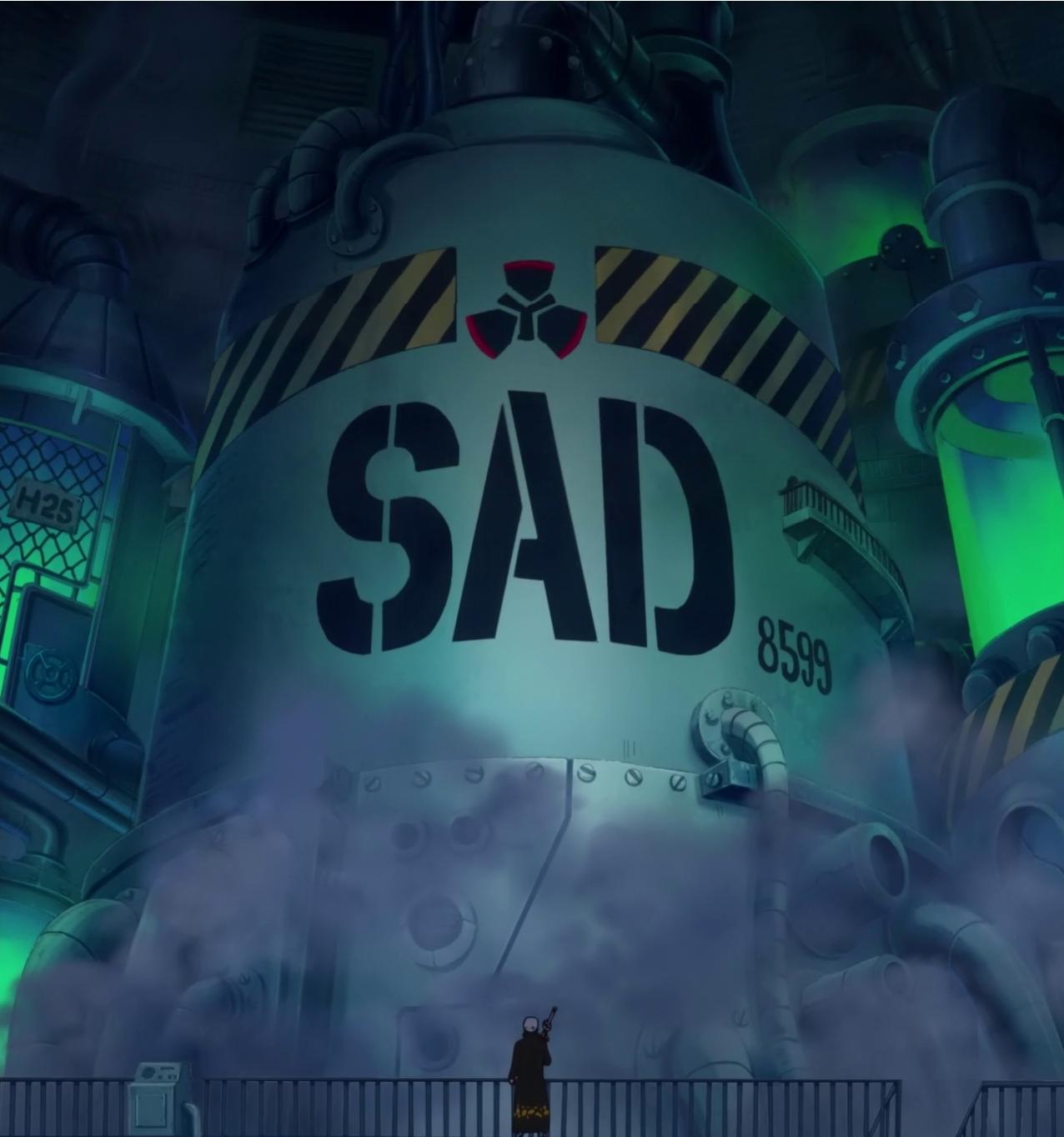 Sad: Manga, Anime, Pirates, Marines