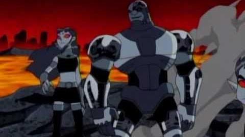 Teen Titans vs Evil Teen Titans