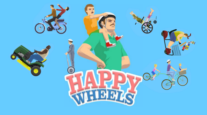 happy wheels home page