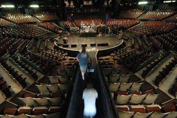 Seat Map - Celebrity Theatre