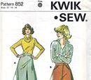 Kwik Sew 852